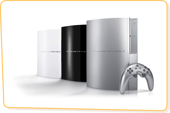 White, Silve & Red PS3